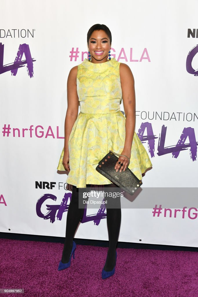 Alicia Quarles attends the 2018 National Retail Federation Gala at Pier 60 on January 14, 2018 in New York City.