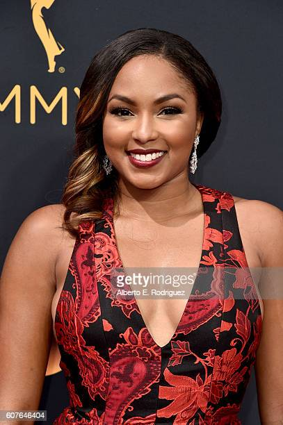 Alicia Quarles attends the 68th Annual Primetime Emmy Awards at Microsoft Theater on September 18 2016 in Los Angeles California