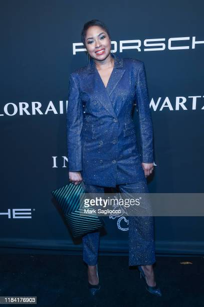 Alicia Quarles attends the Angel Ball 2019 at Cipriani Wall Street on October 28 2019 in New York City