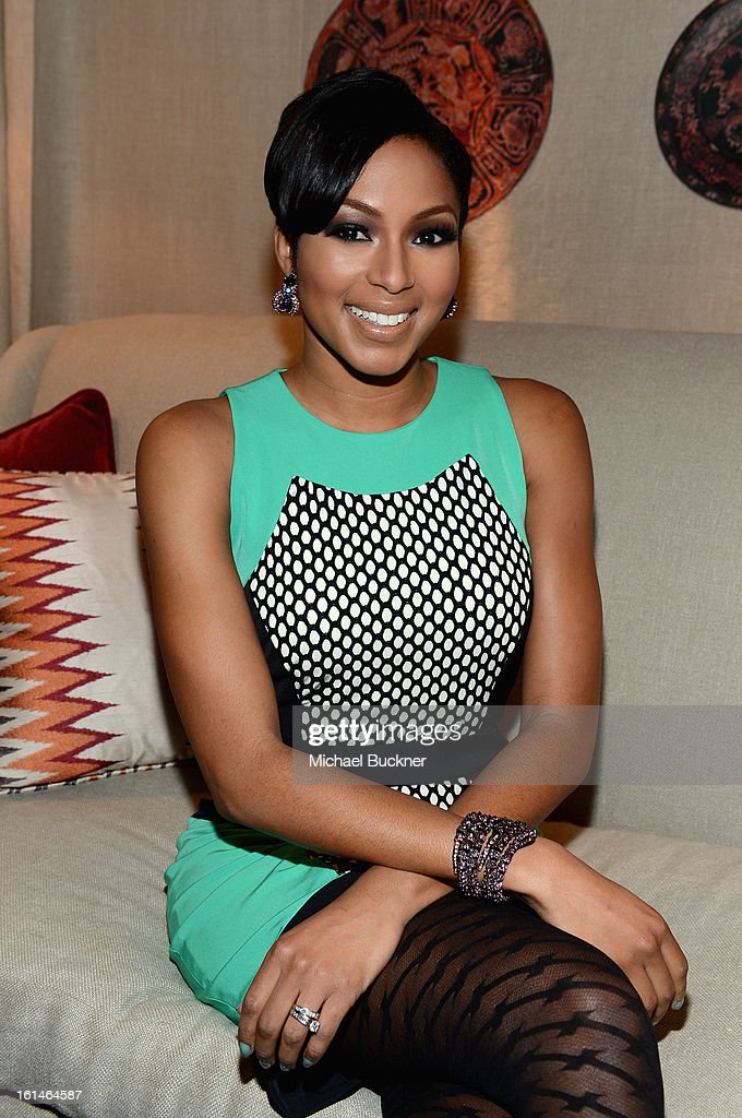 Alicia Quarles attends the Mercedes-Benz Star Lounge during Mercedes-Benz Fashion Week Fall 2013 at Lincoln Center on February 11, 2013 in New York City.