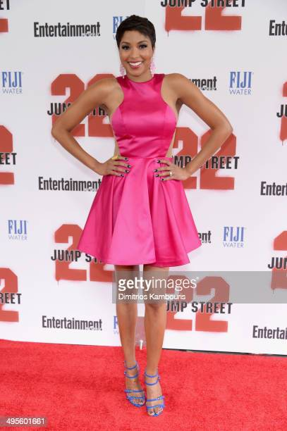 Alicia Quarles attends the New York screening of 22 Jump Street at AMC Lincoln Square Theater on June 4 2014 in New York City
