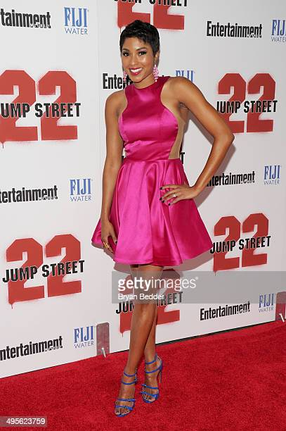 Alicia Quarles attends the New York screening of 22 Jump Street hosted by FIJI Water at AMC Lincoln Square Theater on June 4 2014 in New York City