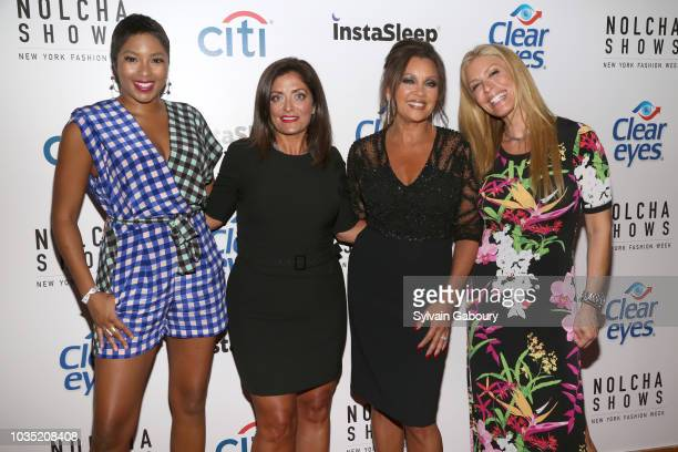 Alicia Quarles Kathy Wakile Vanessa Williams and Jill Martin attend Clear Eyes Partners With The Nolcha Shows To Showcase Emerging Designers'...