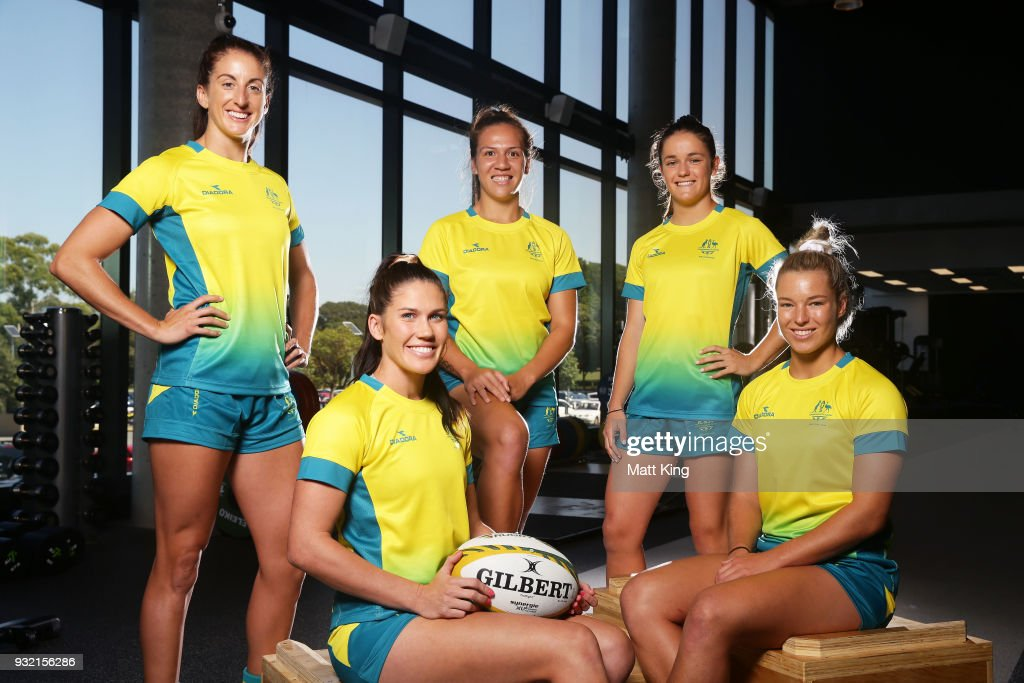 Australian Rugby Sevens Commonwealth Games Teams Announcement : News Photo