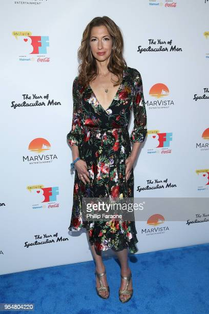 Alicia Reiner attend The Year of Spectacular Men premiere at the 4th Annual Bentonville Film Festival Day 4 on May 4 2018 in Bentonville Arkansas