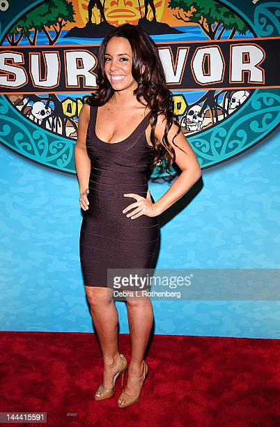 Alicia Rosa attends the 'Survivor One World' Finale at Ed Sullivan Theater on May 13 2012 in New York City