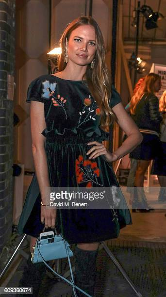 Alicia Rountree attends a Private View iD And CHANEL Present The Fifth Sense Mirror Maze By Es Devlin on September 20 2016 in London United Kingdom