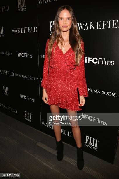 Alicia Rountree attends The Cinema Society and FIJI Water host a screening of IFC Films' Wakefield on May 18 2017 in New York City