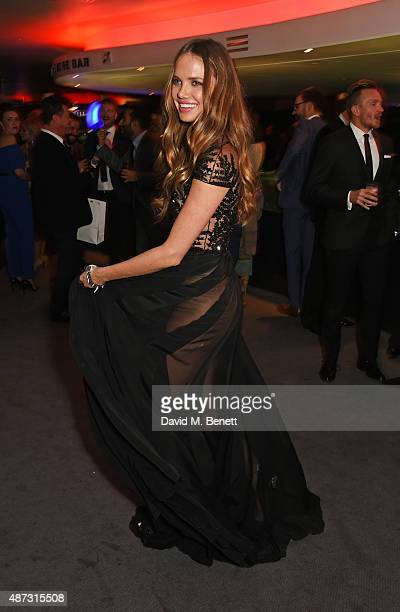 Alicia Rountree attends the GQ Men Of The Year Awards after party at The Royal Opera House on September 8 2015 in London England