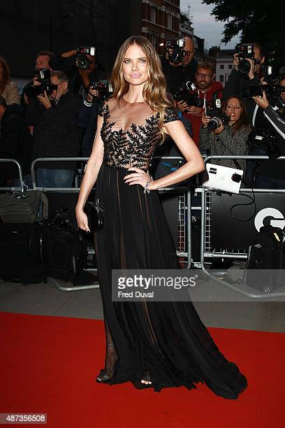 Alicia Rountree attends the GQ Men Of The Year Awards at The Royal Opera House on September 8 2015 in London England
