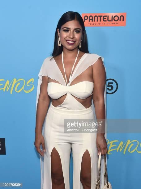 Alicia Saavedra attends the premiere of Pantelion Films' 'Ya Veremos' at Regal Cinemas LA LIVE Stadium 14 on August 27 2018 in Los Angeles California