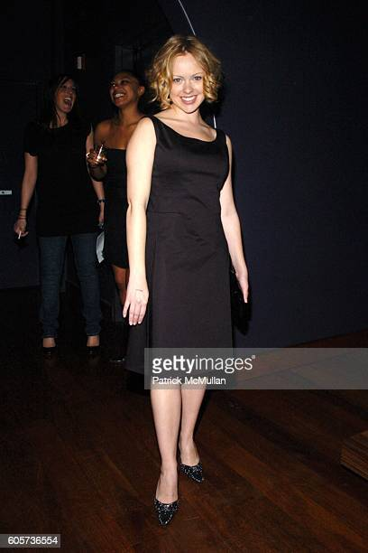 Alicia Sable attends INTERVIEW MAGAZINE afterparty for the NY Premiere of THE NOTORIOUS BETTIE PAGE at Bed on April 10 2006 in New York City