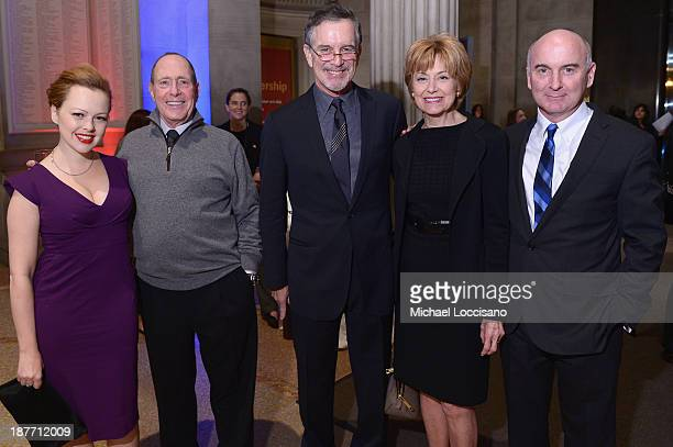 Alicia Sable Elliot Webb Garry Trudeau Jane Pauley and Matt Malloy attend Amazon Studios Premiere Screening for 'Alpha House' on November 11 2013 in...