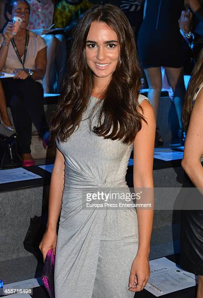 Alicia Sanz attends Mercedes Benz Fashion Week Madrid at Ifema on September 12 2014 in Madrid Spain