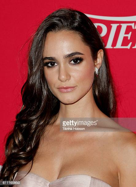 Alicia Sanz attends Variety's 10 Latinos To Watch Event at The London West Hollywood on September 28 2016 in West Hollywood California