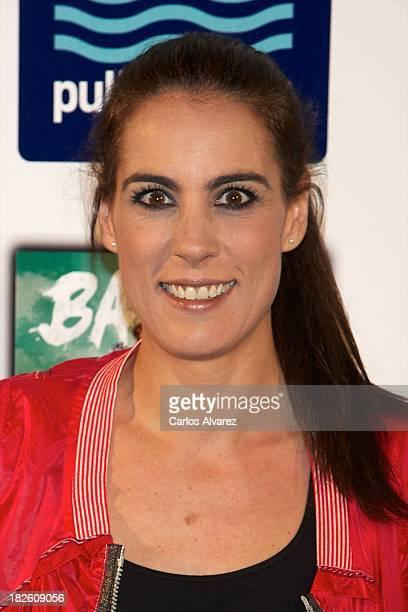 Alicia Senovilla attends the presentation of the new album of singer Carlos Baute 'En El Buzon De Tu Corazon' on October 1 2013 in Madrid Spain