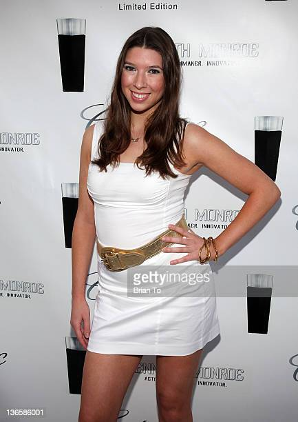 Alicia Sikorski attends Cadillac fragrance celebrity white party introducing Kenneth Monroe at Style Lounge on June 29 2010 in Studio City California