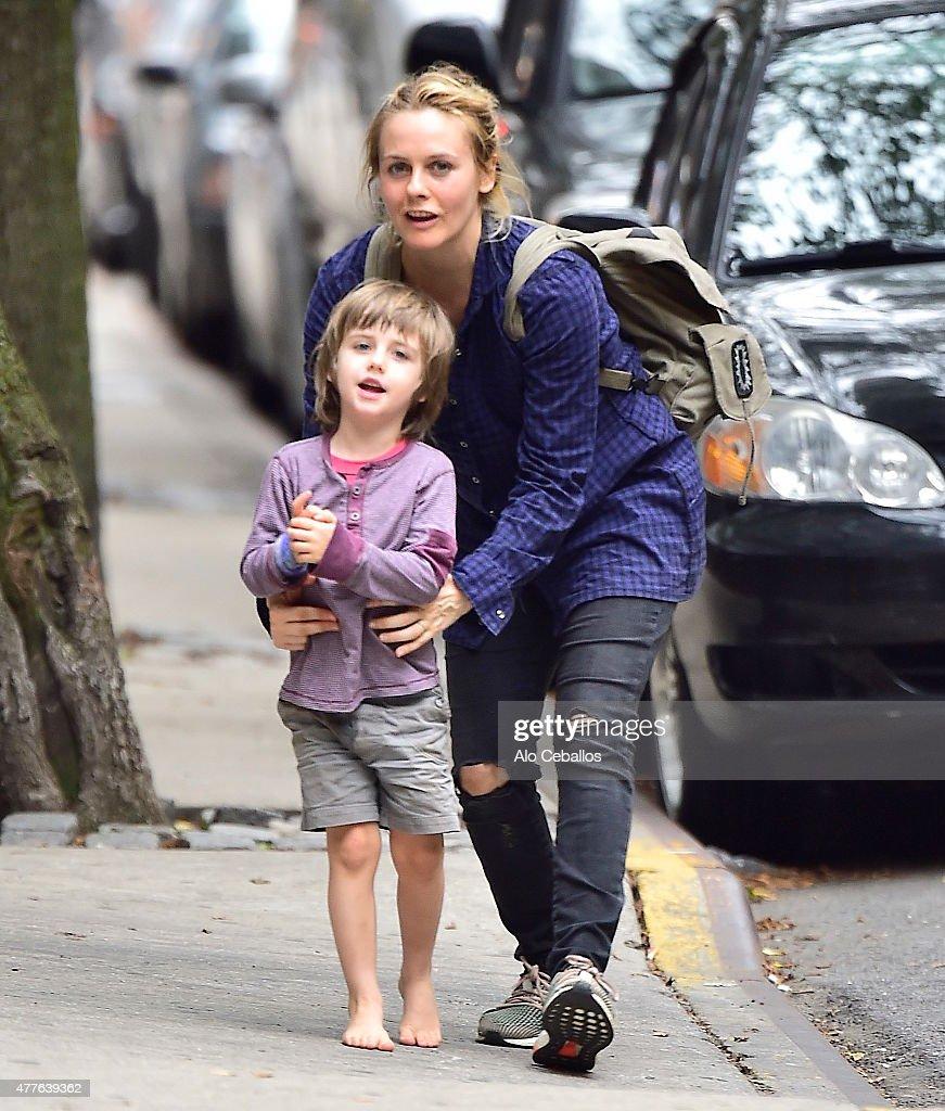 Celebrity Sightings In New York City - June 18, 2015 : News Photo