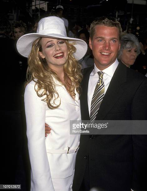 Alicia Silverstone and Chris O'Donnell during Batman Robin Los Angeles Premiere at Mann's Bruin Theater in Westwood California United States