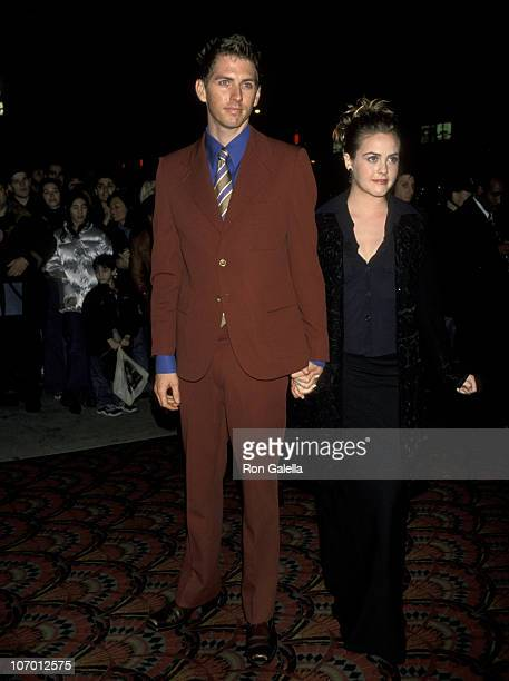 Alicia Silverstone and Christopher Jarecki during 'Blast From The Past' New York City World Premiere at Sony Theaters in New York City New York...