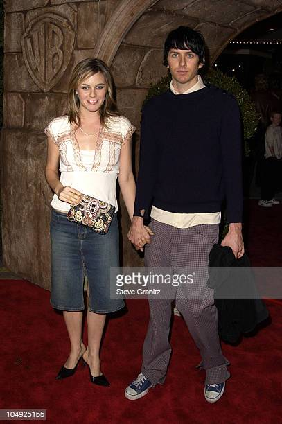 Alicia Silverstone and Christopher Jarecki during Harry Potter and The Sorcerer's Stone Los Angeles Premiere at Mann Village Theatre in Westwood...