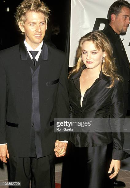 Alicia Silverstone and Christopher Jarecki during PETA Honors The Animal Rights Movement at Paramount Studios in Hollywood California United States