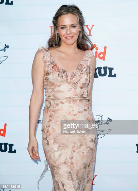 Alicia Silverstone appears at the premiere of Diary of a Wimpy Kid The Long Haul at the Indianapolis Motor Speedway on May 12, 2017 in Indianapolis,...