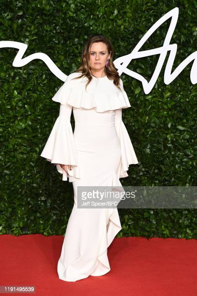 Alicia Silverstone arrives at The Fashion Awards 2019 held at Royal Albert Hall on December 02 2019 in London England