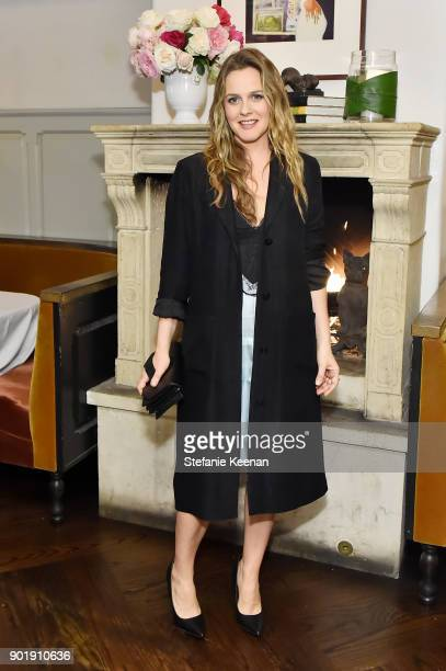 Alicia Silverstone attends Lynn Hirschberg Celebrates W Magazine's It Girls With Dior at AOC on January 6 2018 in Los Angeles California