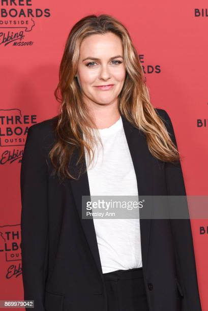 Alicia Silverstone attends Premiere Of Fox Searchlight Pictures' 'Three Billboards Outside Ebbing Missouri' at NeueHouse Hollywood on November 3 2017...