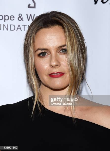Alicia Silverstone attends The Animal Hope Wellness Foundation's 2nd Annual Compassion Gala at Playa Studios on March 03 2019 in Culver City...