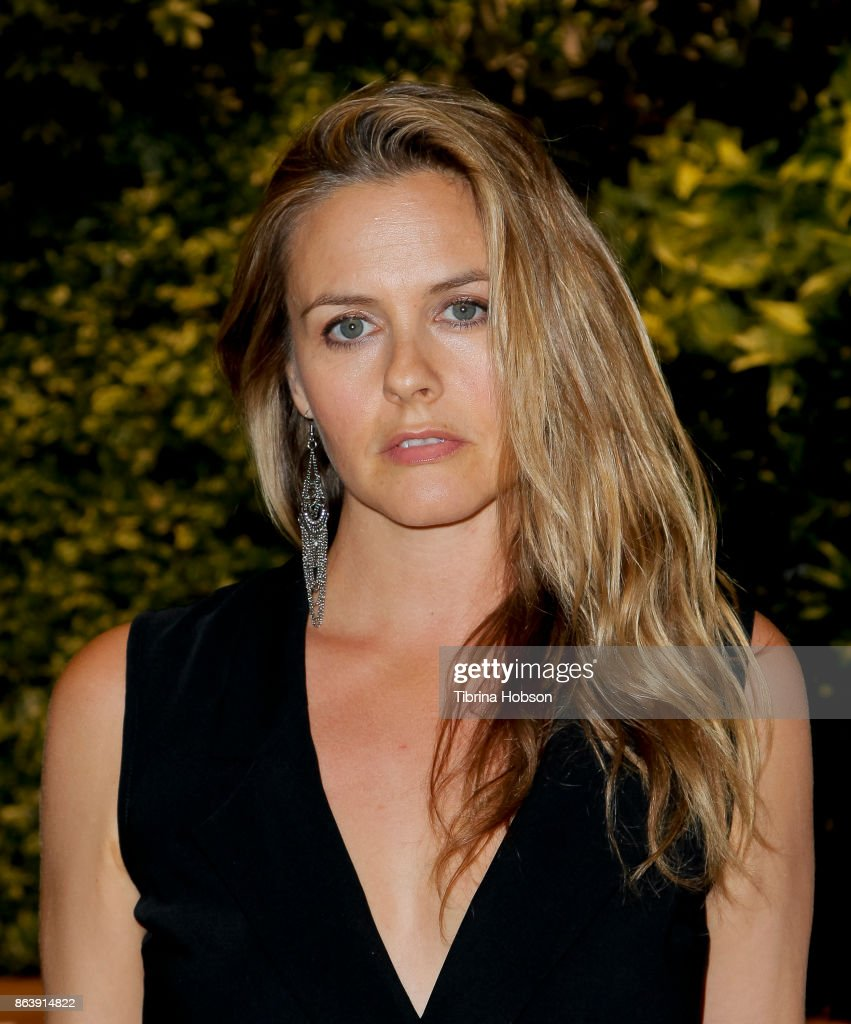 Alicia Silverstone attends the Los Angeles Cleantech Incubator celebration of new CEO Matt Petersen on October 19, 2017 in Los Angeles, California.