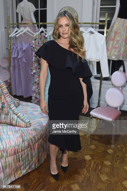 Alicia Silverstone attends the Opening Of Christian Siriano's New Store The Curated NYC Hosted By Alicia Silverstone on April 17 2018 in New York City