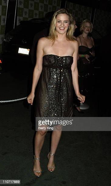 Alicia Silverstone during 15th Annual Environmental Media Awards Arrivals at Wilshire Ebell Theatre in Hollywood California United States