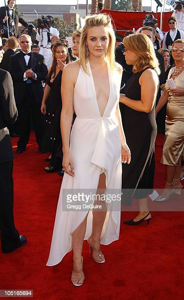 Alicia Silverstone during 55th Annual Primetime Emmy Awards Arrivals/DeGuire at The Shrine Auditorium in Los Angeles California United States