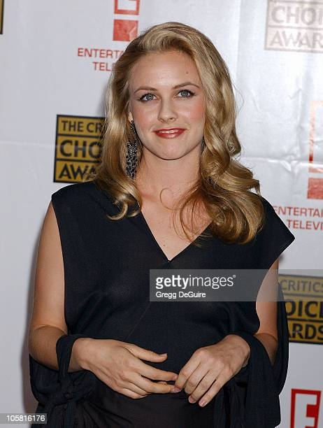 Alicia Silverstone during 9th Annual Critics' Choice Awards Arrivals at Beverly Hills Hotel in Beverly Hills California United States
