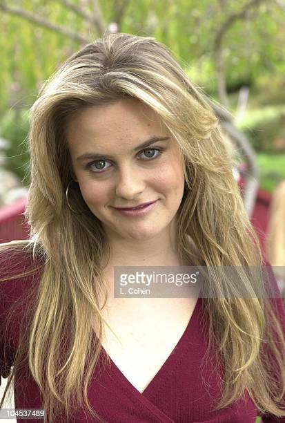 Alicia Silverstone during Alicia Silverstone Photo Shoot in Los Angeles California United States