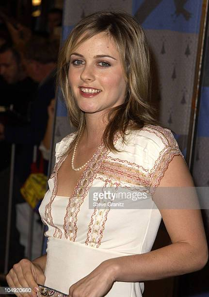 Alicia Silverstone during 'Harry Potter and The Sorcerer's Stone' Los Angeles Premiere at Mann Village Theatre in Westwood California United States