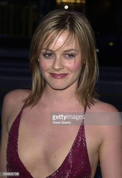 Alicia Silverstone during Moulin Rouge Los Angeles Premiere at Samuel Goldwyn Theater in Beverly Hills California United States