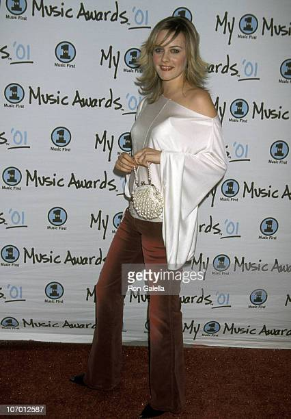 Alicia Silverstone during My VH1 Music Awards 2001 Arrivals at The Shrine Auditorium in Los Angeles California United States