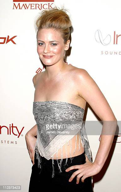 Alicia Silverstone during P Diddy and Guy Oseary Host Their PostVMA Party at Cipriani's Presented by RBK Arrivals at Cipriani's in New York City New...