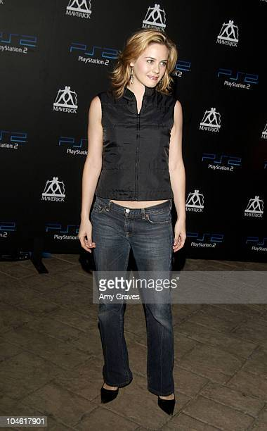 Alicia Silverstone during PlayStation2 and Guy Oseary Host Online Gaming Tournament for Charity at Private Residence in Beverly Hills California...