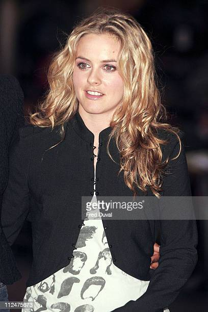 Alicia Silverstone during 'Pride and Prejudice' London Premiere at Odeon Leicester Square in London Great Britain