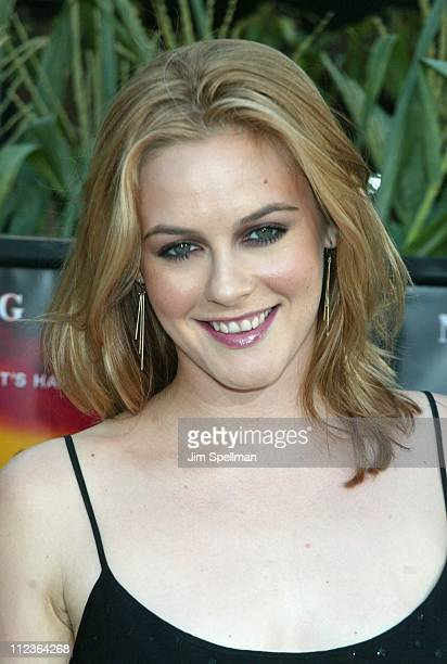 Alicia Silverstone during Signs Premiere New York at Alice Tully Hall in New York City New York United States