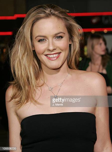 """Alicia Silverstone during """"Sky Captain And The World Of Tomorrow"""" Los Angeles Premiere at Grauman's Chinese Theatre in Hollywood, California, United..."""