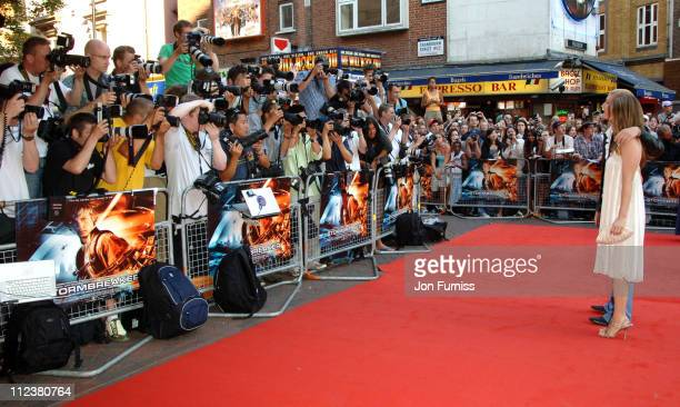 Alicia Silverstone during 'Stormbreaker' London Premiere Inside Arrivals at Vue West End in London Great Britain