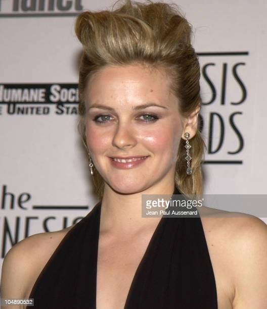 Alicia Silverstone during The 17th Annual Genesis Awards Pressroom at The Beverly Hilton in Beverly Hills California United States