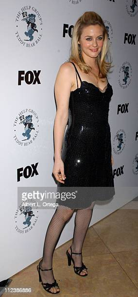 Alicia Silverstone during The Help Group's 7th Annual Teddy Bear Ball Honoring FOX's Sandy Grushow at The Beverly Hilton Hotel in Beverly Hills...
