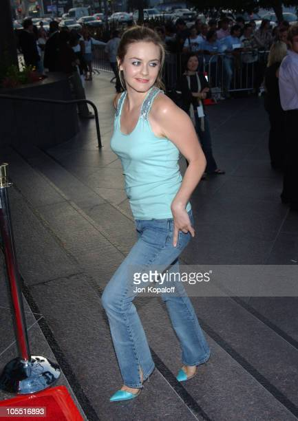 Alicia Silverstone during 'We Don't Live Here Anymore' Los Angeles Premiere Arrivals at The Director's Guild of America in Los Angeles California...