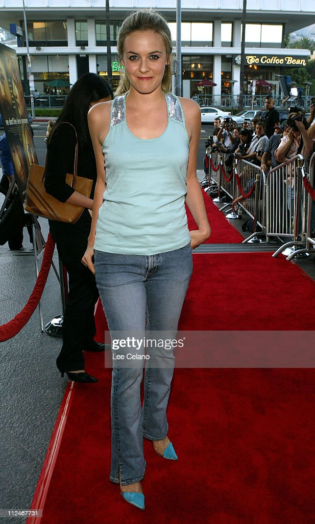 Alicia Silverstone during 'We Don't Live Here Anymore' Los Angeles Premiere - Red Carpet at Director's Guild of America Theatre in Hollywood, California, United States.